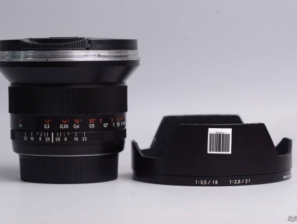 Promaster 28-105mm Sigma 20mm f1.8 canon 20-35mm Zeiss 18mm f3.5 tamro