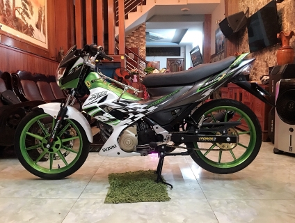 !!!HOT Raider Up Full Satria Belang 150 BSTP đẹp 566.77