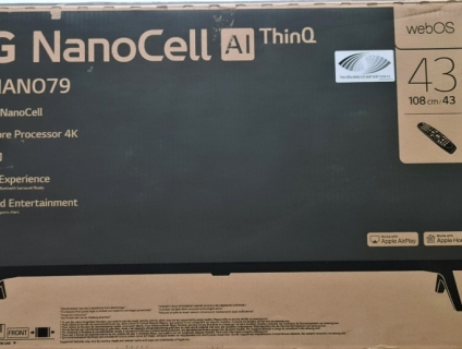 TV 4K LG 43NANO79 43in dòng 4K NANO CELL BH 12/2022