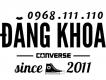 Đại lý chuyên phân phối CONVERSE - PALLADIUM - VANS chính hãng HCM giá ưu đãi !!!