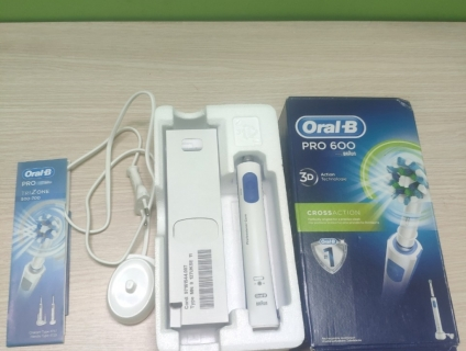 Bàn chải điện Braun Oral B Pro 600 3D, made in Germany