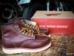 Red Wing boot Leather. - giày boot da chất lừ . Made in USA. !!!