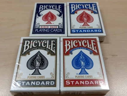 Bộ Game Poker hãng Bicycle mới 100% (Made in USA)
