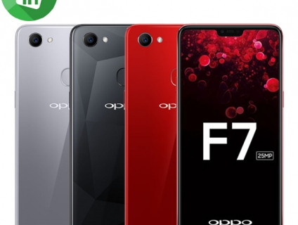 Oppo F7 Silver bh 15/5/2019 + Oppo F7 Red 128G bh 6/5/2019