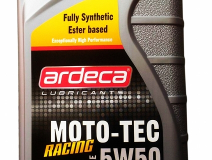 Ardeca MOTO-TEC RACING 5W50 Made in Bỉ
