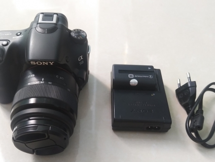 Sony A58 kit và Flash Nissin i40