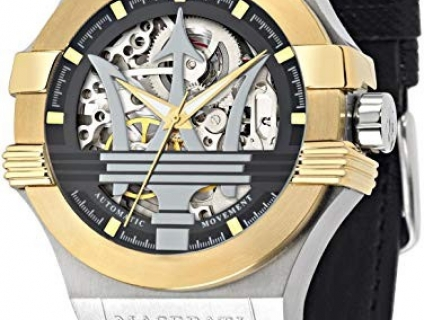 Đồng Hồ Maserati Potenza Automatic Skeleton Dial Mens R8821108011