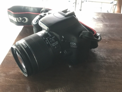 Canon 550D Lens18-55 IS II Mới 99%